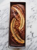 Banaanbrood royalty-vrije stock afbeeldingen