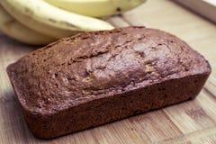 Banaanbrood en bananen Royalty-vrije Stock Afbeeldingen