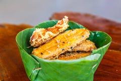 Banaanfritter Stock Foto's