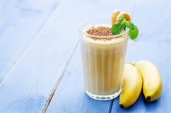 banaanmilkshake Royalty-vrije Stock Fotografie