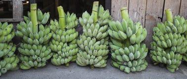Banaanvruchten markt Thailand royalty-vrije stock fotografie