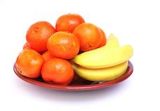 bananów tangerines zdjęcia royalty free