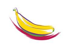 Banan stock illustrationer