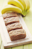 Banan breads Stock Photography