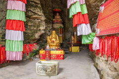Banan District, Chongqing City, East River Springs five cloth Buddha Buddha Cave Stock Photos