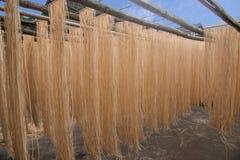 Banan District des riches de ville de Chongqing handcrafted l'atelier de nouille de vermicellis Image libre de droits
