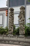 Banan District, orilla del este salta distrito turístico del paño del centro turístico y del balneario cinco de Chongqing, hotel  Imagen de archivo