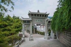 Banan District, Ostflußufer entspringt touristischer Bereich des Erholungsort- u. Badekurortfünf Stoffes orientalischer Volksbade Stockfoto