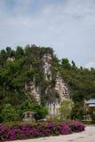 Banan District, Ostflußufer entspringt touristischer Bezirk des Erholungsort- u. Badekurortfünf Stoffes von Chongqing Stockfotografie
