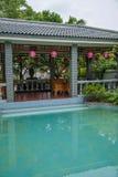Banan District, Ostflußufer entspringt touristischer Bezirk des Erholungsort- u. Badekurortfünf Stoffes von Chongqing, Chongqing  Lizenzfreie Stockfotos
