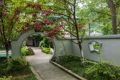 Banan District, Ostflußufer entspringt touristischer Bezirk des Erholungsort- u. Badekurortfünf Stoffes von Chongqing, Chongqing  Lizenzfreies Stockfoto