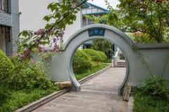 Banan District, Ostflußufer entspringt touristischer Bezirk des Erholungsort- u. Badekurortfünf Stoffes von Chongqing, Chongqing  Stockbilder