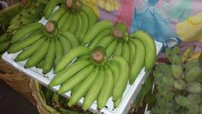 Banan@ grossistmarknad Arkivfoton