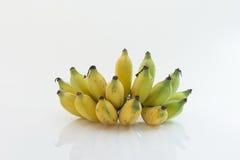 Banan odizolowywający jako biały tło Zdjęcia Stock
