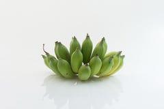 Banan odizolowywający jako biały tło obrazy stock