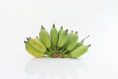 Banan odizolowywający jako biały tło Zdjęcia Royalty Free