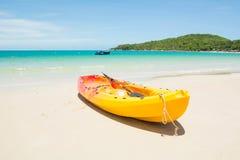 banan plażowe łodzi Obraz Stock