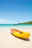 banan plażowe łodzi Obrazy Royalty Free