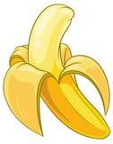 banan strugał Obrazy Royalty Free