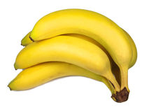 Banana. S isolated on white background royalty free stock images
