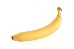 Banana. Fresh yellow banana isolated on white background Stock Photos