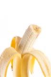 Banana. Yellow banana isolated on white background stock photography
