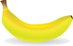 Banana. Sweet tropical banana  illustration Stock Photography