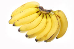 Banana. Fruits isolated on white background Royalty Free Stock Photo