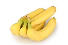 Banana. Bunch on white background Royalty Free Stock Image