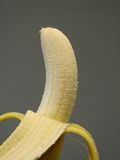 Banana. Peeled Banana Royalty Free Stock Photos