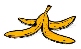 Banana. Illustration of an banana Royalty Free Stock Photos