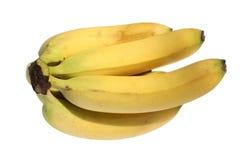 Banana. Ripe banana on a white background Stock Photos