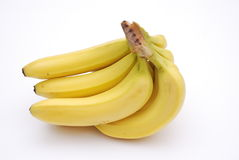 Banana. A Mixed Fresh Healthy Bananas Royalty Free Stock Image