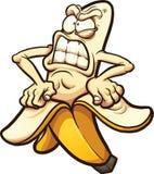 Banana arrabbiata illustrazione di stock