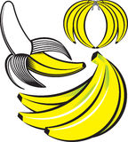 Banana Art Royalty Free Stock Photo