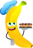 Banana as confectioner Royalty Free Stock Photos