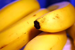 Banana background 1. Bunch of bananas close-up royalty free stock photo