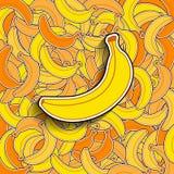 Banana background Royalty Free Stock Photo