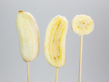 Banana, banana coltivata. Immagini Stock Libere da Diritti