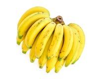 Banana. S on white background royalty free stock photos