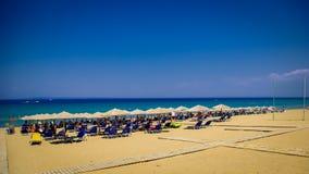 Banana Beach, Zakynthos Island, Greece. Stock Photography