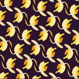 banana bezszwowy deseniowy Obraz Stock