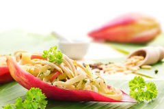 Banana blossom salad Royalty Free Stock Photo