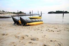 Banana boat Stock Images