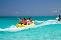 Banana Boat Royalty Free Stock Photography