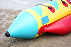 Banana boat Stock Images
