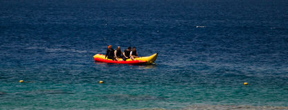 Banana Boat Royalty Free Stock Photos