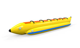 Banana Boat Isolated Royalty Free Stock Photos
