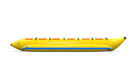 Banana Boat Isolated Stock Photo