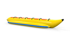 Banana Boat Isolated Royalty Free Stock Photo